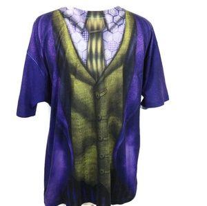 DC Comics Joker Suit Up Costume T-shirt